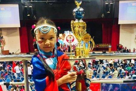 Долоон настай Ч.Маргад Соробан сампингийн дэлхийн аварга болжээ