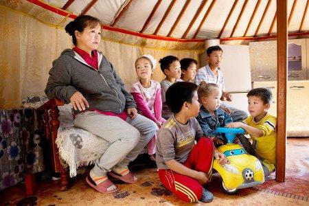 Амьсгалахын төлөө тэмцэж буй Монгол