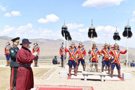 Ерөнхийлөгч Х.Баттулга Бүх цэргийн Их хар сүлдийг цэнгүүлэх тайлгын ёслолд оролцов