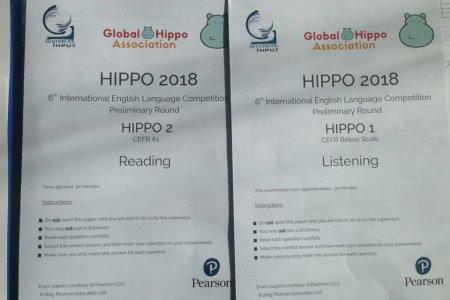 Hippo англи хэлний олон улсын олимпиад амжилттай зохион байгуулагдлаа.