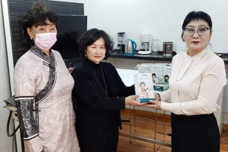 Covid-19 donated an infection control kit to the staff of the NCCD's Infectious Diseases Unit.