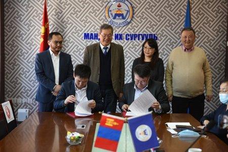 Мандах Их Сургууль Тайгам Алтай группын хооронд хамтран ажиллах гэрээ байгууллаа.