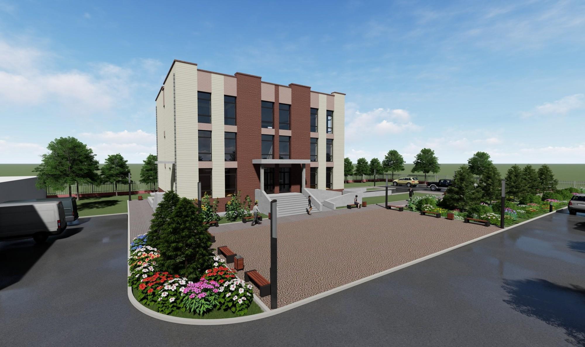 Мал эмнэлэгийн газрын захиргааны барилга