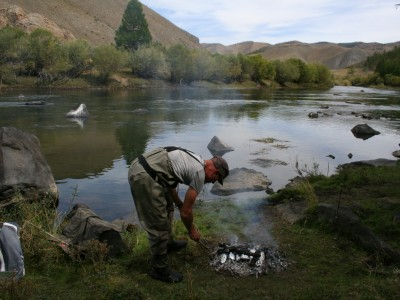 Fly Fishing Tour Eg river,      for 10 days