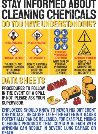 Stay informed about cleaning chemicals