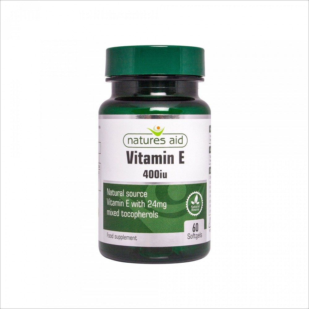 VITAMIN E 400 iu, 60 softgel