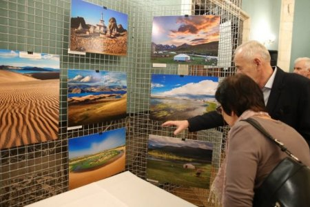 """One Day in Mongolia"" photo exhibition launches in Poland"