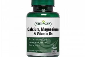 CALCIUM, MAGNESIUM & VITAMIN D3,90 шахмал