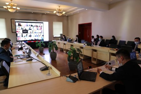 Online training for senior officials of the General Authority for State Registration has been successfully completed