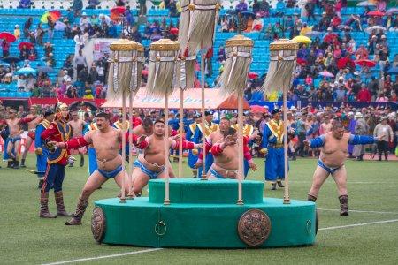 Das Naadam Fest in der Mongolei