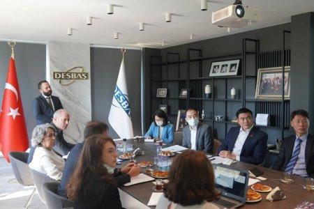 Шадар сайд С.Амарсайхан Истанбул хот дахь Десбаш чөлөөт бүсийн  үахиргаатай хамтран ажиллахаар ярилцлаа