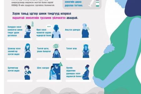 КОВИД-19 халдварын үед жирэмсэн эмэгтэйчүүдэд өгөх зөвлөмж