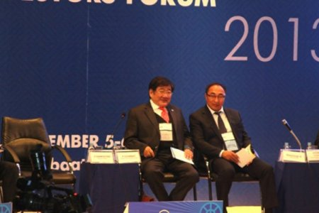 """Taking part in """"discover mongolia-2013"""" forum"""