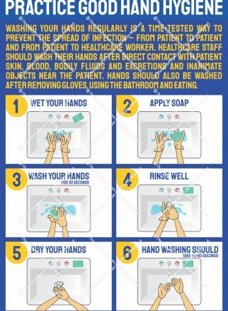 Practice good hand hygiene