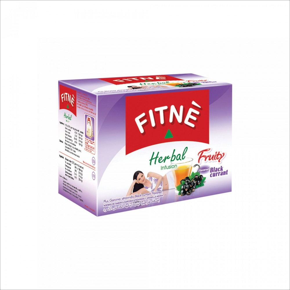 FITNE Herbal Infusion  Tea Black Currant Flavored 37.5g №15