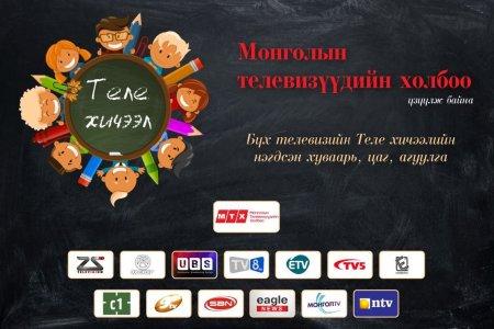Монгол Улс теле хичээл зохион байгуулалтаараа тэргүүлж байна
