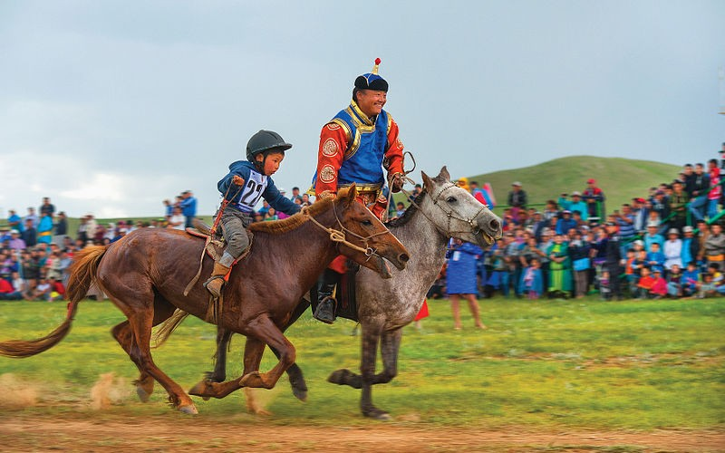 NAADAM FESTIVAL WITH GREAT KHUVSGUL LAKE
