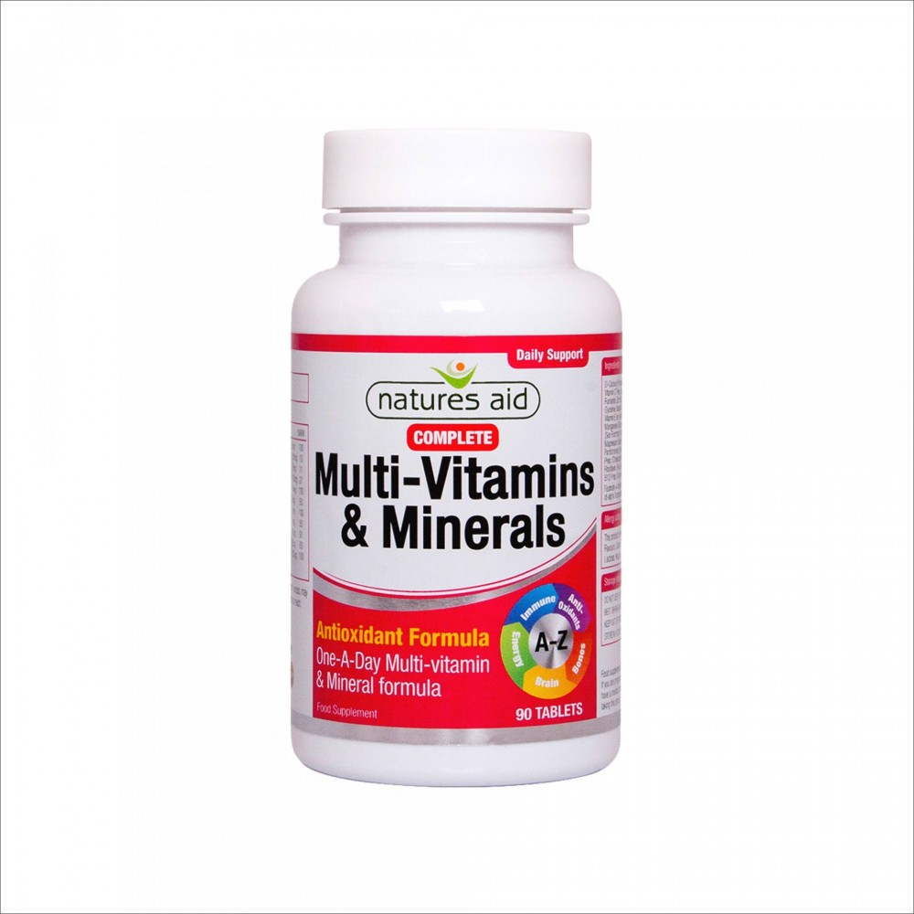 COMPLETE MULTI- VITAMINS & MINERALS, 90 TABLETS