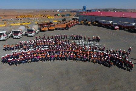 Монголын хамгийн том бетон зуурмагын үйлдвэр ашиглалтанд орлоо