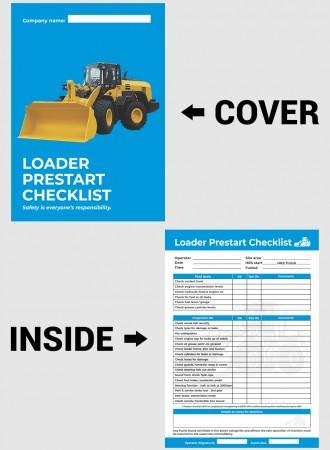 Loader prestart checklist