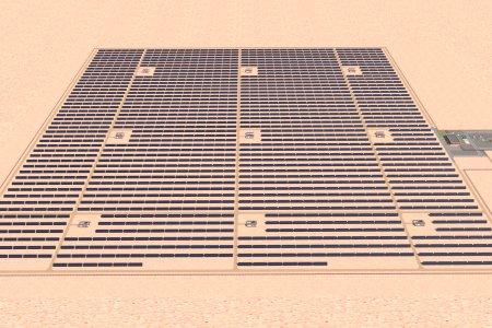 Шугам ХХК нь Замын-Үүдийн Гэгээн 15МВт-ын нарны цахилгаан станцын барилга угсралтын ажилд зохиогчийн хяналт тавьж байна.