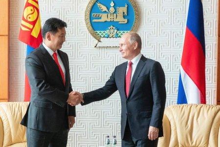 Ерөнхий сайд У.Хүрэлсүх Оросын Холбооны Улсын ерөнхийлөгч В.В.Путинд бараалхав