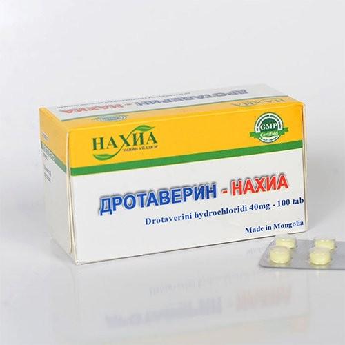 Дротаверин - Нахиа /40мг/ №10