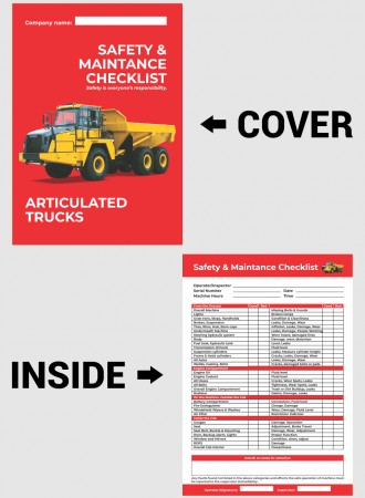 Articulated truck checklist