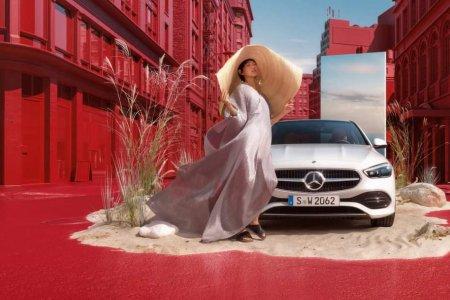 Монгол Модел Ж.Энэрэл Mercedes-Benz C-Class-ийн нүүр царай боллоо