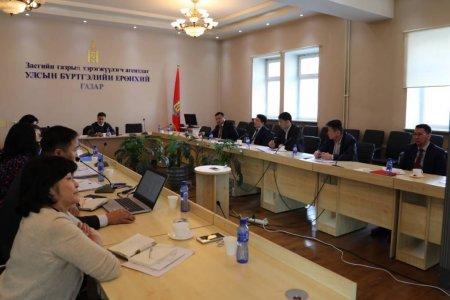 Азийн хөгжлийн банкны техникийн туслалцааны дэмжлэгтэйгээр хэрэгжиж буй төслийн Удирдах хорооны хурал боллоо