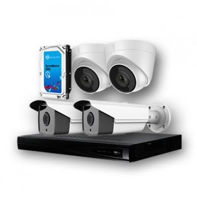 Хяналтын камерны багц: 4 камертай