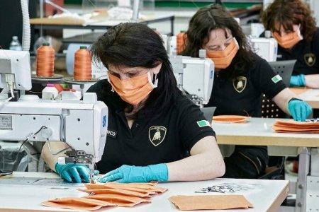 Ламборгини компани маск, нүүрний хаалт үйлдвэрлэж эхэллээ