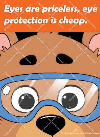 Eyes are priceless, eye protection is cheap