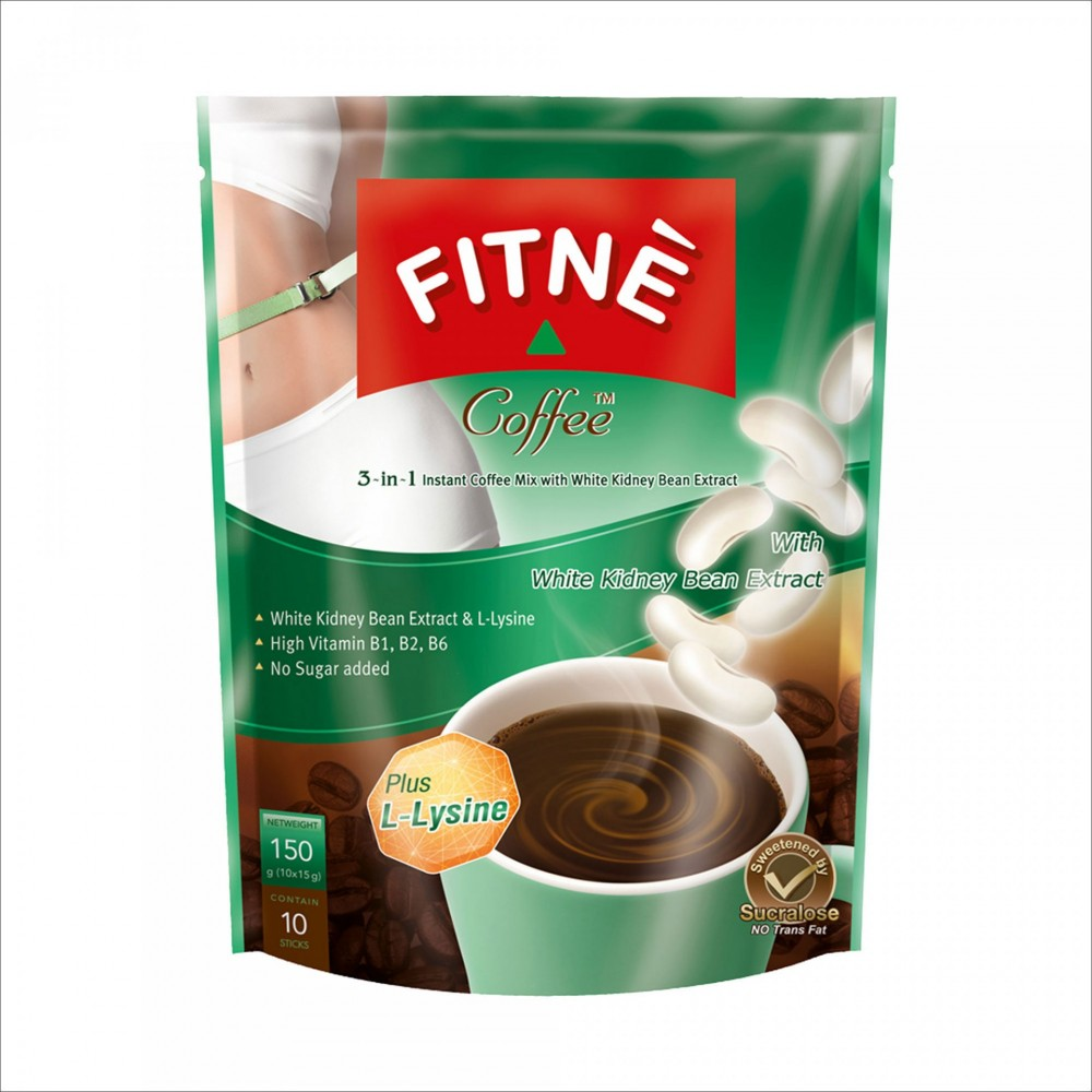 FITNE Coffee with White Kidney Bean Extract 150гр №10