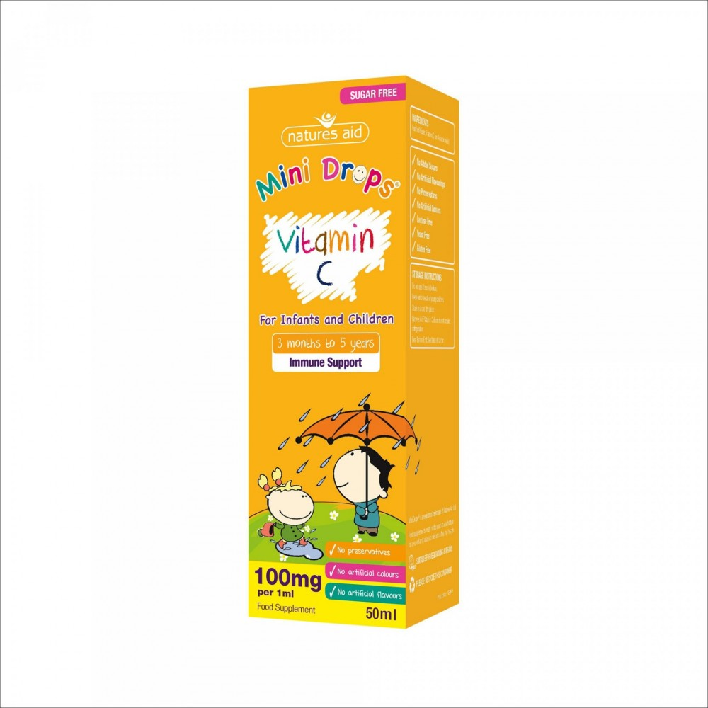 VITAMIN C DROPS, 50 ML