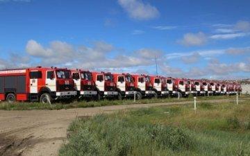 Беларусь улсаас гал түймэр унтраах тусгай зориулалтын 40 ширхэг машин тээвэрлэв.