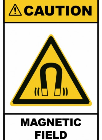 Magnetic field sign