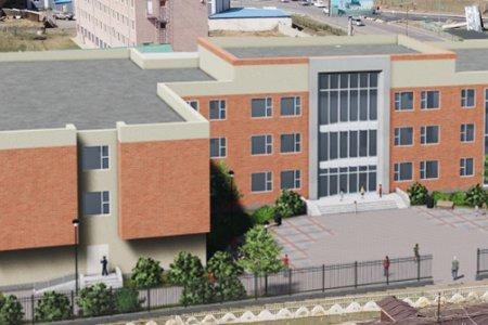"""Улаанбаатар хот, Налайх дүүргийн 2 дугаар хороонд байрлах """"Голомт"""" цогцолбор сургуулийн барилга угсралтын ажлыг эхлүүллээ"""