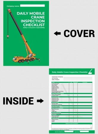 Mobile crane checklist