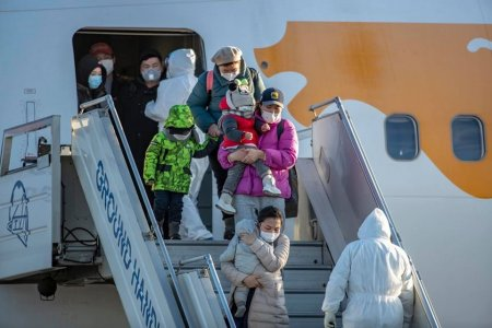 Сөүл-Улаанбаатар чиглэлийн нислэгээр Монгол Улсын 244 иргэн эх орондоо ирлээ