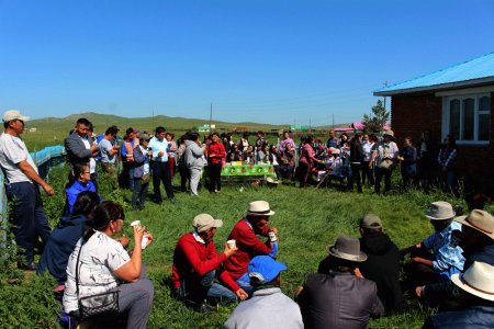 Local communities are satisfied with Boroo Gold's afforestation and pasture management projects