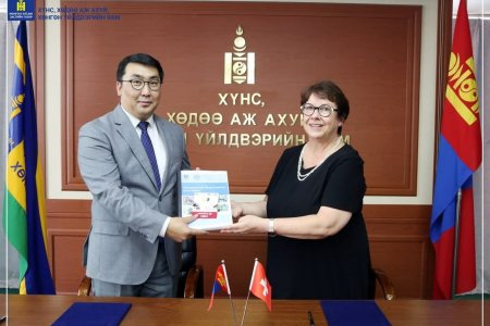 The Swiss Cooperation in Mongolia handed over the results of achivements and documents of the Green Gold and Animal Health project which implemented during 17 years to the Ministry of Food, Agriculture and Light Industry.