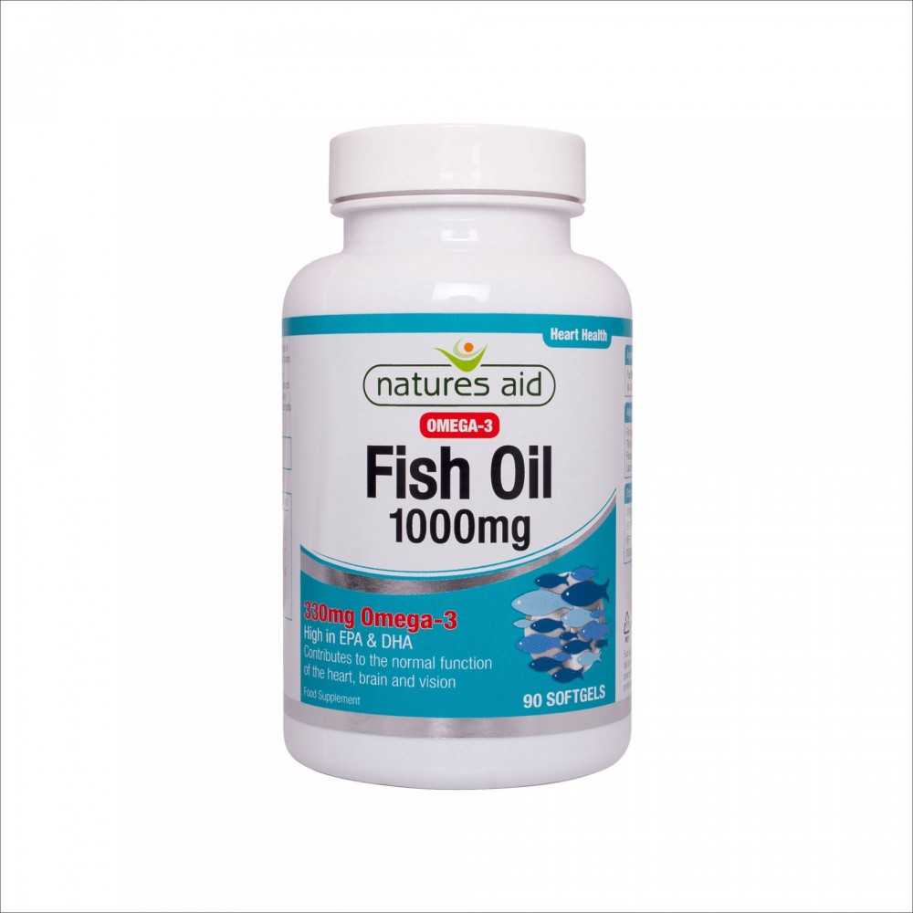 FISH OIL 1000mg, 90 softgel