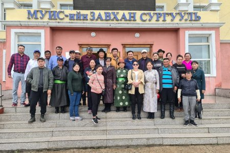 Establishment and training of 3 new SCCs in Zavkhan aimag.