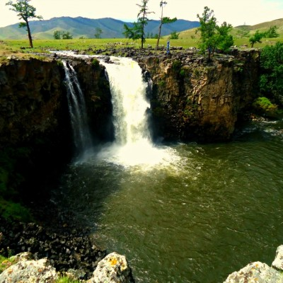 ORKHON WATERFALL & WHITE LAKE