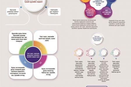Инфографик: Гэмт хэрэг, зөрчлөөс урьдчилан сэргийлэх тухай хууль (шинэчилсэн найруулга)-ийн танилцуулга