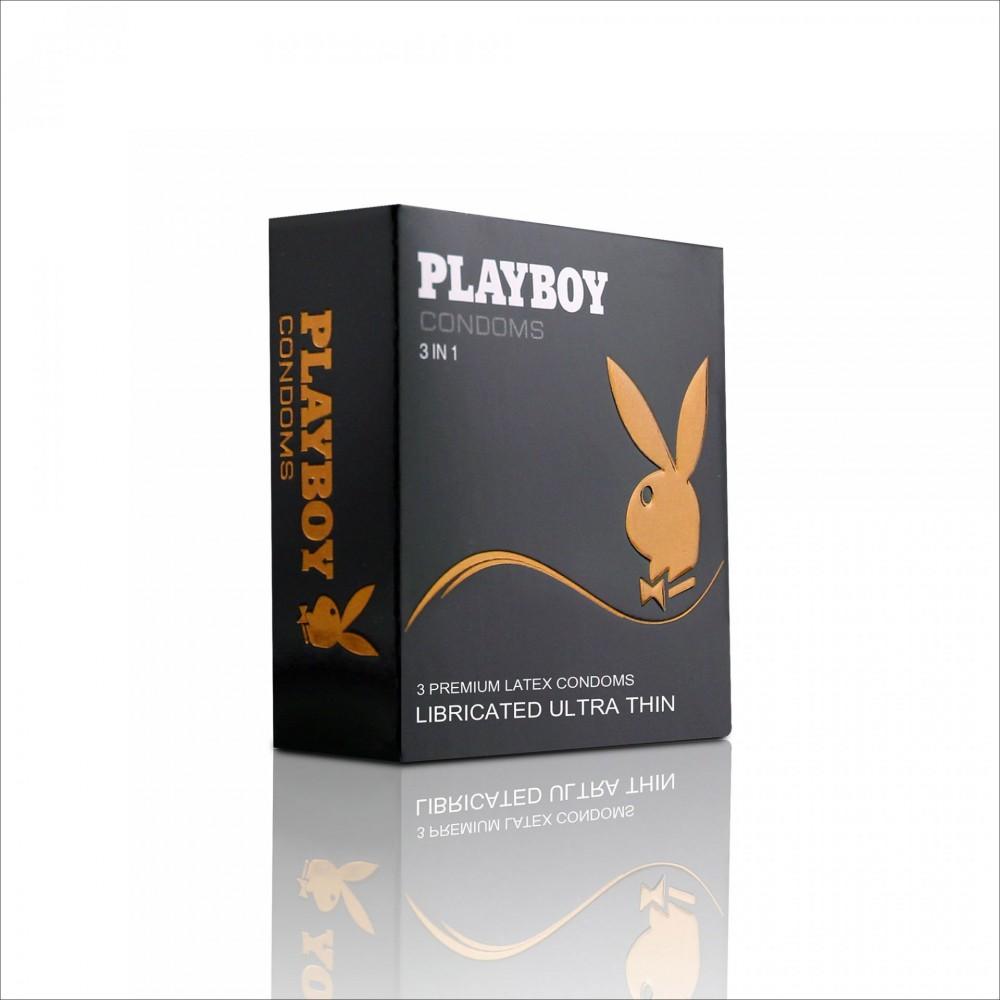 Бэлгэвч PlayBoy Нимгэн, 3 ширхэгтэй