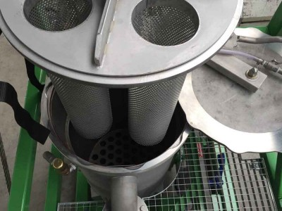 Dual Vessel Combi Filter Unit