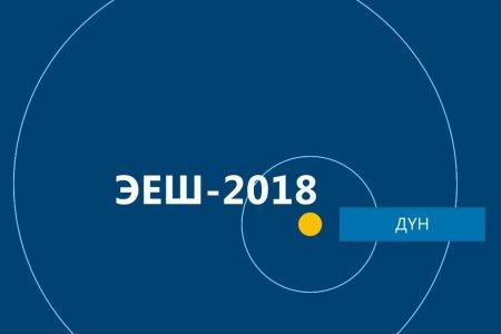 2018 оны ЭЕШ-ын дүн