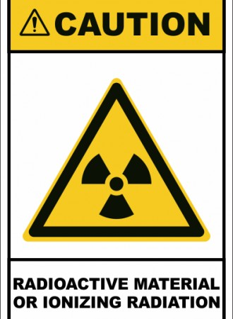Radioactive material or Ionizing radiation sign